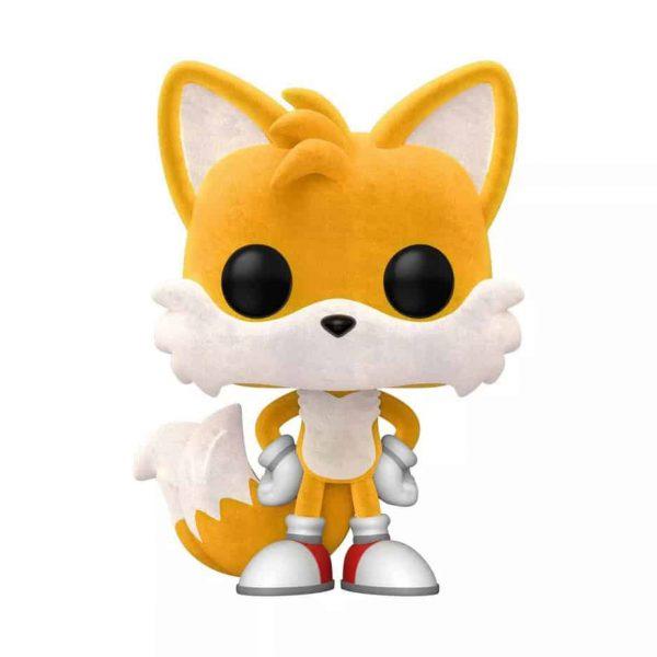 Funko POP! Games Sonic - Tails Flocked Funko Pop! Vinyl Figure - Target Con 2021 Exclusive