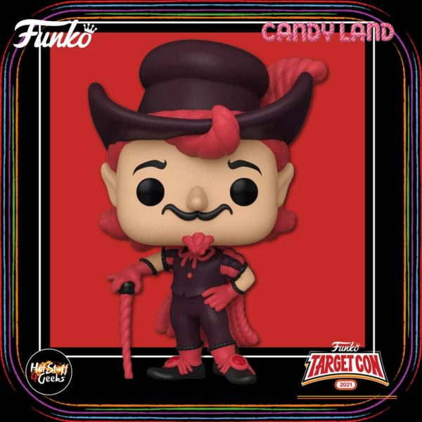 Funko Pop! Retro Toys: Candyland - Lord Licorice Funko Pop! Vinyl Figure - Target Con 2021 Exclusive