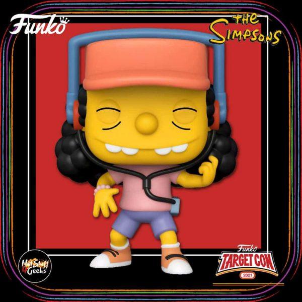 Funko Pop! Television: The Simpsons - Otto Mann Funko Pop! Vinyl Figure - Target Con 2021 Exclusive