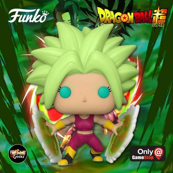 Funko Pop! Animation: Dragon Ball Super - Super Saiyan Kefla Funko Pop! Vinyl Figure - GameStop Exclusive