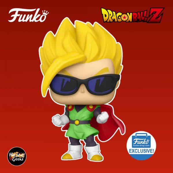 Funko Pop! Animation: Dragon Ball Z - Super Saiyan Gohan With Sunglasses Funko Pop! Vinyl Figure - Funko Shop Exclusive