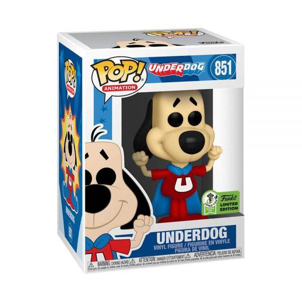 Funko Pop! Animation: The Underdog Funko Pop! Vinyl Figure - Funko Virtual Con Spring 2021, ECCC 2021, Spring Convention 2021, and Funko Shop Exclusive