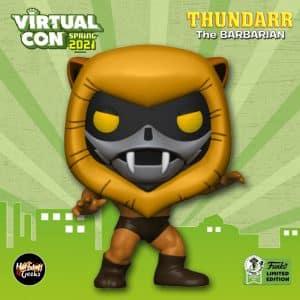 Funko Pop! Animation: Thundarr The Barbarian - Ookla the Mok Funko Pop! Vinyl Figure - Funko Virtual Con Spring 2021, ECCC 2021, Spring Convention 2021, and Funko Shop Exclusive