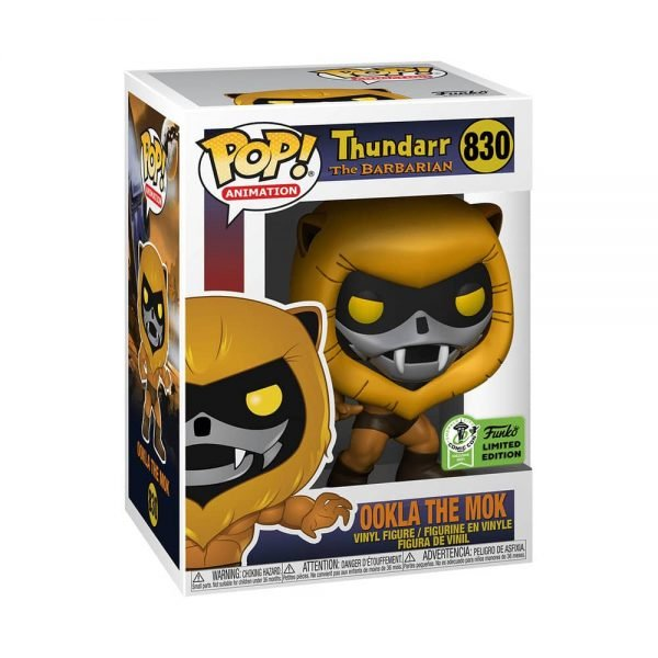Funko Pop! Animation: Thundarr The Barbarian - Ookla the Mok Funko Pop! Vinyl Figure - Funko Virtual Con Spring 2021, ECCC 2021, Spring Convention 2021, and Funko Shop Exclusive