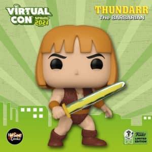 Funko Pop! Animation: Thundarr The Barbarian - Thundarr Funko Pop! Vinyl Figure - Funko Virtual Con Spring 2021, ECCC 2021, Spring Convention 2021, and Funko Shop Exclusive