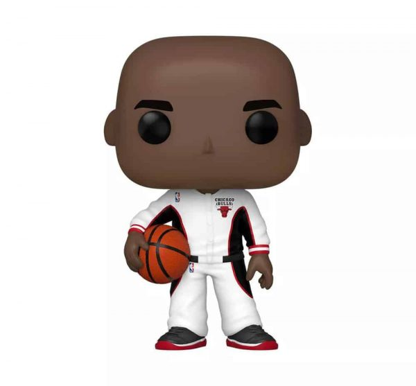 Funko Pop! Basketball: NBA - Michael Jordan Bulls White Warmup Funko Pop! Vinyl Figure – Target Con 2021 Exclusive