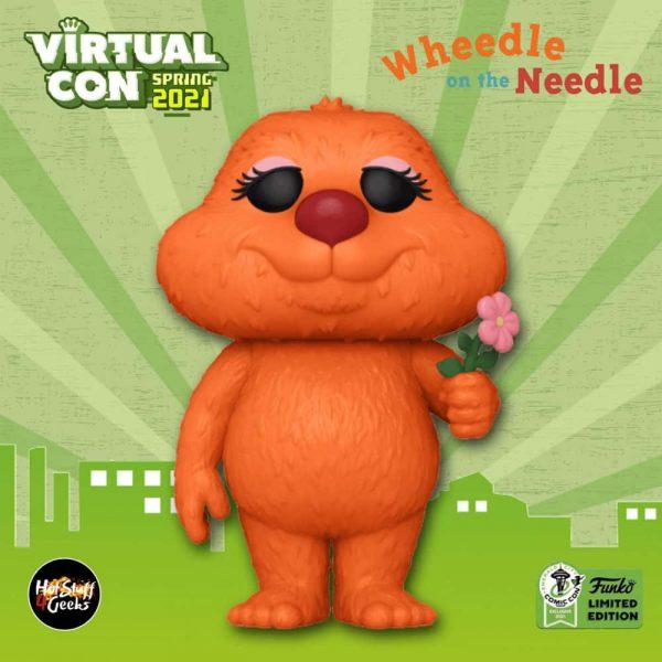 Funko Pop! Books: Wheedle on the Needle - Wheedle Funko Pop! Vinyl Figure - Funko Virtual Con Spring 2021 - ECCC 2021 and Funko Shop Exclusive