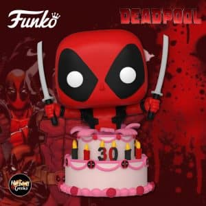 Funko Pop! Deadpool: Deadpool in Cake Funko Pop! Vinyl Figure