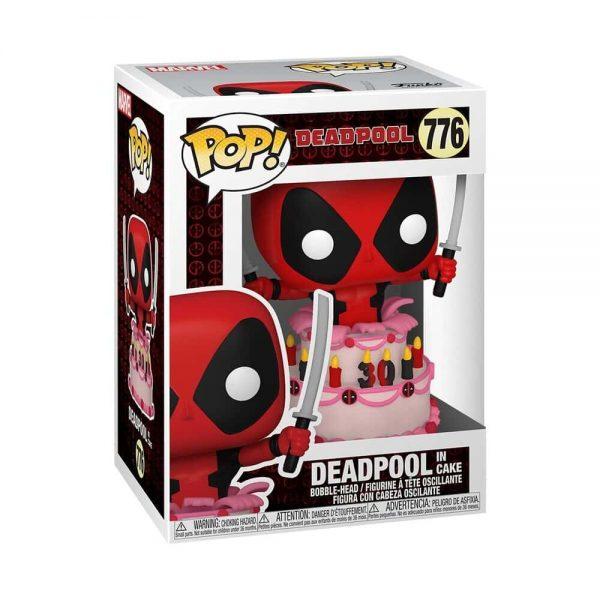Funko Pop! Deadpool: Deadpool in Cake Funko Pop! Vinyl Figure