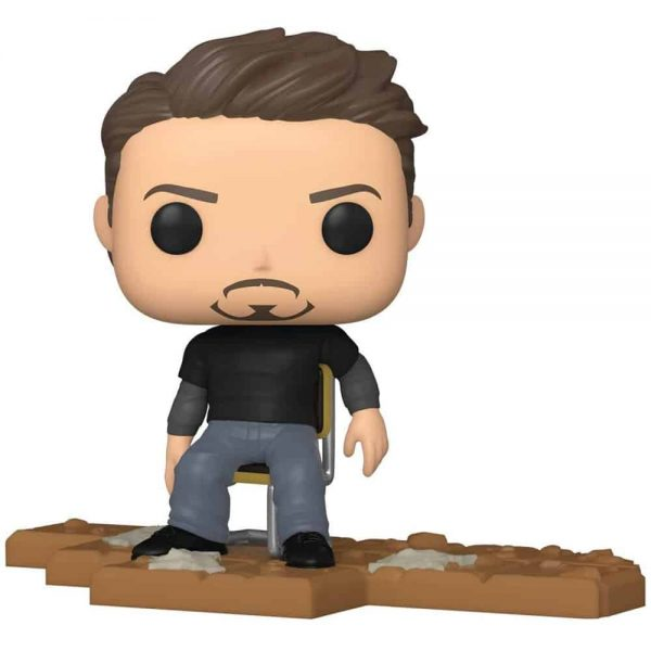 Funko Pop! Deluxe: Marvel Avengers - Victory Shawarma Series - Tony Stark (Iron Man) Funko Pop! Vinyl Figure - Amazon Exclusive, Figure 2 of 6