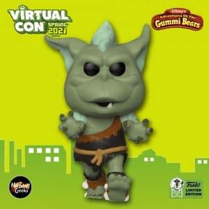 Funko Pop! Disney: Adventures of The Gummi Bears - Green Ogre Funko Pop! Vinyl Figure - ECCC 2021 and Funko Shop Shared Exclusive