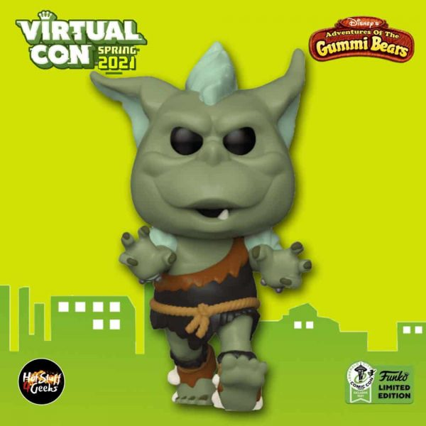 Funko Pop! Disney: Adventures of The Gummi Bears - Green Ogre Funko Pop! Vinyl Figure - ECCC 2021 and Funko Shop Shared Exclusive