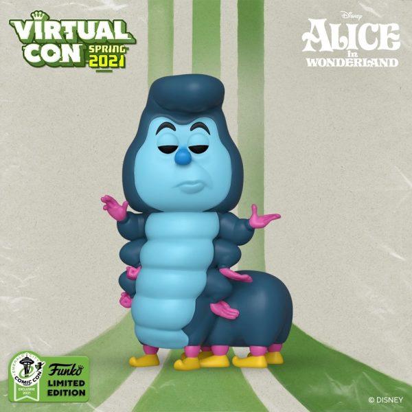 Funko Pop! Disney: Alice in Wonderland 70th Anniversary - Caterpillar Funko Pop! Vinyl Figure - ECCC 2021 and Hot Topic Shared Exclusive