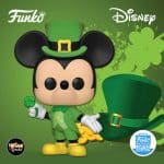 Funko Pop! Disney: Lucky Mickey (Saint Patrick's Day) Funko Pop! Vinyl Figure - Funko Shop Exclusive