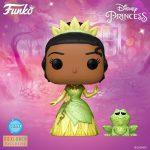 Funko Pop! Disney Princess: Princess Tiana and Naveen Diamond Glitter Collection Funko Pop! Vinyl Figure - BoxLunch Exclusive.