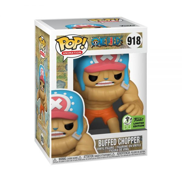Funko Pop! Games: One Piece - Buffed Chopper Funko Pop! Vinyl Figure - ECCC 2021 and Hot Topic Shared Exclusive