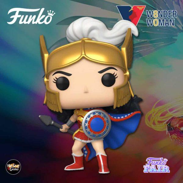 Funko Pop! Heroes: Wonder Woman 80th Anniversary - Wonder Woman Challenge Of The Gods Funko Pop! Vinyl Figure - Funko Fair 2021