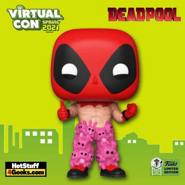 Funko Pop! Marvel: Deadpool - Deadpool With Teddy Pants Funko Pop! Vinyl Figure - ECCC 2021 and Target Shared Exclusive