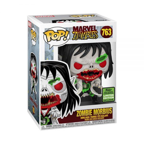 Funko Pop! Marvel: Marvel Zombies - Zombie Morbius Funko Pop! Vinyl Figure - ECCC 2021 and GameStop Shared Exclusive