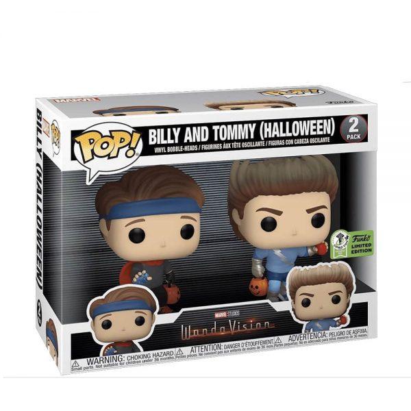 Funko Pop! Marvel Studios: WandaVision - Billy and Tommy Halloween 2 Pack Funko Pop! Vinyl Figure - Funko Virtual Con Spring 2021 - ECCC 2021 and Amazon Exclusive