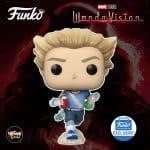 Funko Pop! Marvel Studios: WandaVision - Pietro Maximoff Funko Pop! Vinyl Figure - Funko Shop Exclusive