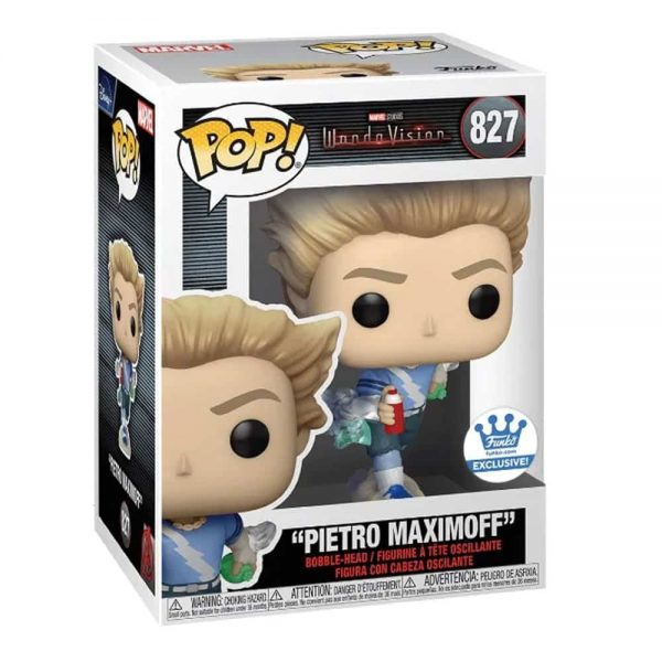 Funko Pop! Marvel Studios: WandaVision - Pietro Maximoff Funko Pop! Vinyl Figure - Funko Shop Exclusive