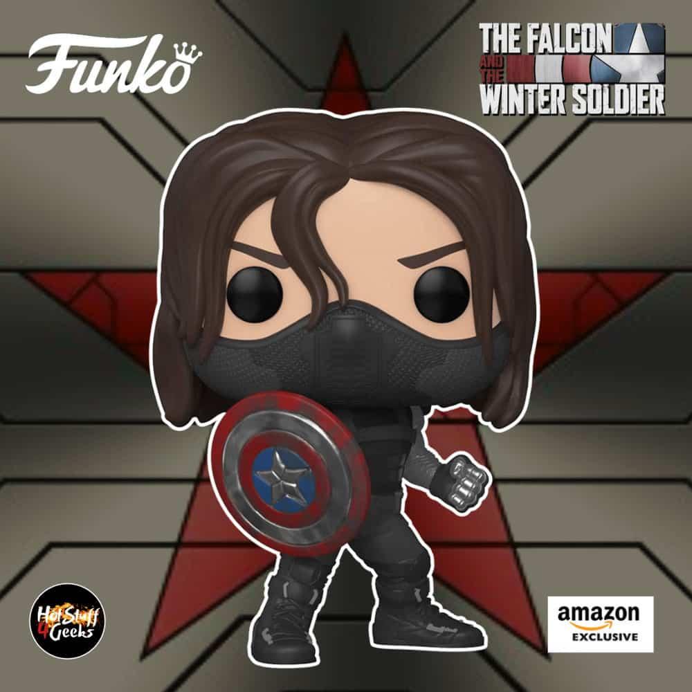 Funko Pop! Marvel: Year of The Shield - The Winter Soldier Funko Pop! Vinyl Figure - Amazon Exclusive, Figure 1 of 8