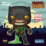 Funko Pop! Marvel Zombies - Black Panther 10 Inch Jumbo Size Funko Pop! Vinyl Figure - Walmart Exclusive