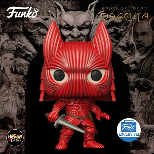 Funko Pop! Movies: Bram Stoker's Dracula - Vlad The Impaler With Helmet Funko Pop! Vinyl Figure (Funko Fair 2021) - Funko Shop Exclusive