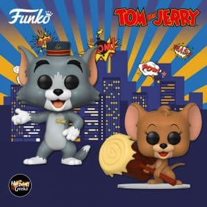 Funko Pop! Movies Tom & Jerry Movie - Tom and Jerry Funko Pop! Vinyl Figures Release date 2021