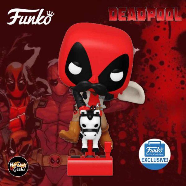 Funko Pop! Rides! Deadpool - Sheriff Deadpool Riding Horsey Funko Pop! Vinyl Figure