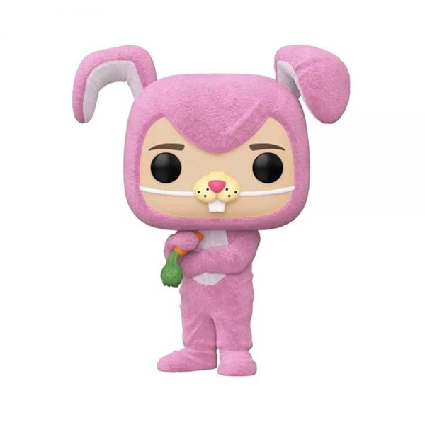 Funko Pop! Television: Friends – Chandler Bing as Pink Bunny Flocked Funko Pop! Vinyl Figure - Target Con 2021 Exclusive