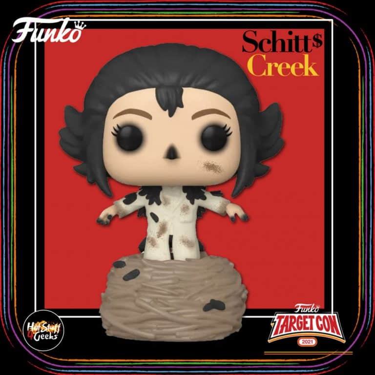 Funko Pop! Television: Schitt's Creek - The Crows Have Eyes 3 Moira Funko Pop! Vinyl Figure – Target Con 2021 Exclusive
