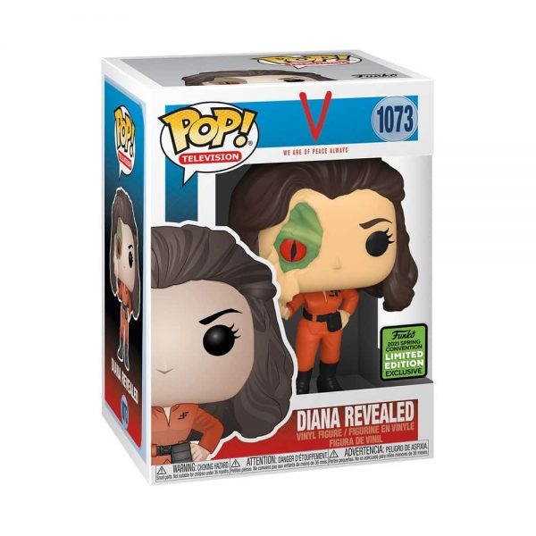 Funko Pop! Television: V (TV Series) - Diana with Lizard Face Funko Pop! Vinyl Figure - ECCC 2021 and Fye Shared Exclusive