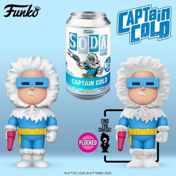 Funko Vinyl Soda Captain Cold Vinyl Soda Figure With Chase Variant