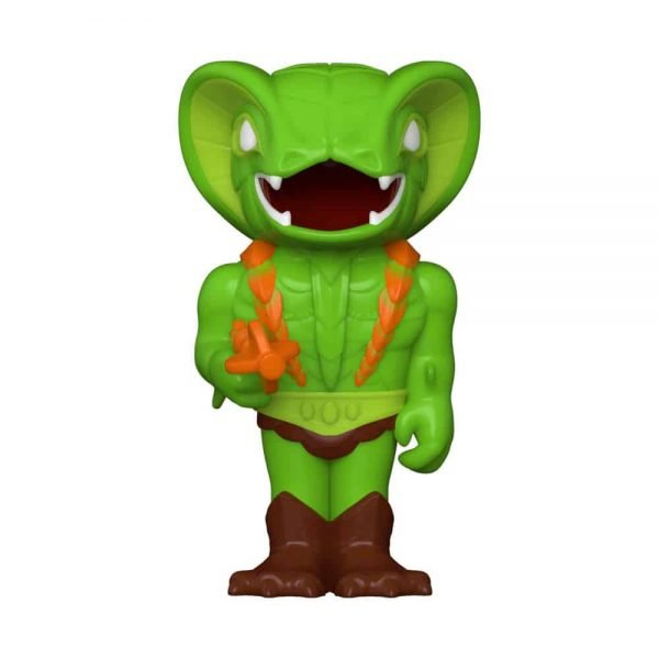 Funko Vinyl Soda: Masters of the Universe: Kobra Khan Vinyl Soda Figure With Chase Variant - ECCC 2021, Spring Convention 2021, and Funko Shop Shared Exclusive