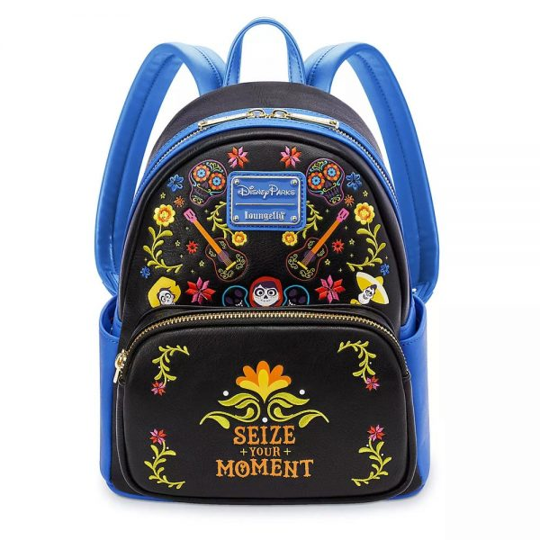 Loungefly Coco Seize Your Moment Mini Backpack - Disney Park Exclusive