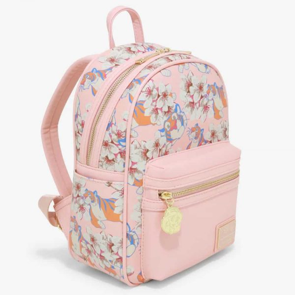 Loungefly Disney Aladdin Rajah Floral Mini Backpack - BoxLunch Exclusive