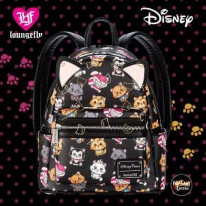 Loungefly Disney Cats Mini Backpack - Disney Parks Exclusive