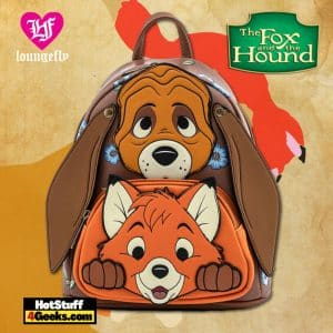 Loungefly Disney Fox and Hound Tod and Copper Cosplay Mini Backpack