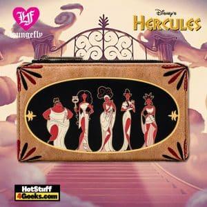 Loungefly Disney Hercules Muses Flap Wallet