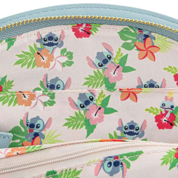 Loungefly Disney Lilo And Stitch Luau Cosplay Crossbody Bag