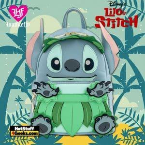 Loungefly Disney Lilo And Stitch Luau Cosplay Mini Backpack
