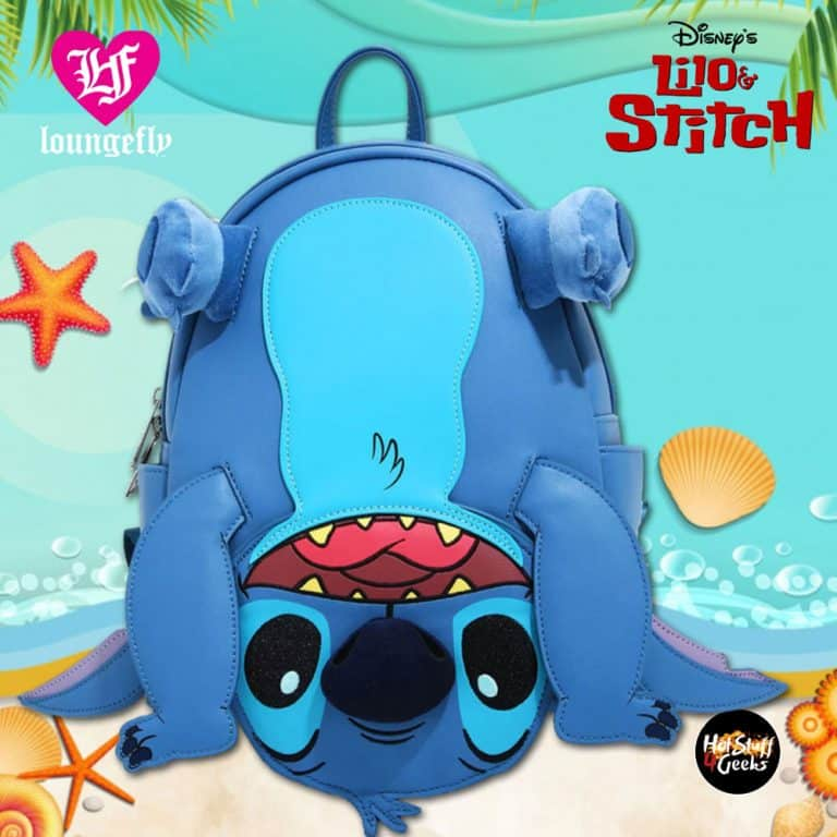 Loungefly Disney Lilo & Stitch Upside Down Figural Mini Backpack - BoxLunch Exclusive