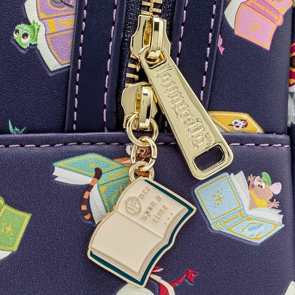 Loungefly Disney Princesses Books AOP Mini Backpack - March 2021 pre-orders coming on April 2021.