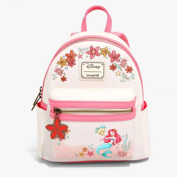 Loungefly Disney The Little Mermaid Floral Mini Backpack - BoxLunch Exclusive