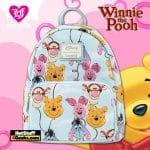 Loungefly Disney Winnie The Pooh Balloon Friends Mini Backpack