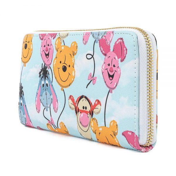 Loungefly Disney Winnie The Pooh Balloon Friends Zip Around Wallet