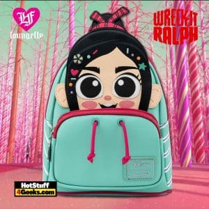 Loungefly Disney Wreck-It Ralph Vanellope Cosplay Mini Backpack