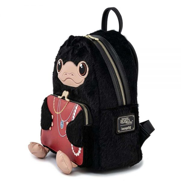Loungefly Fantastic Beasts Niffler Plush Cosplay Mini Backpack
